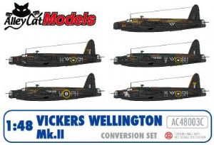 VICKERS WELLINGTON Mk IIC CONVERSION INCLUDING DECALS